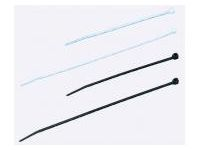 Cable ties (Standard White, Weather-resistant Black)