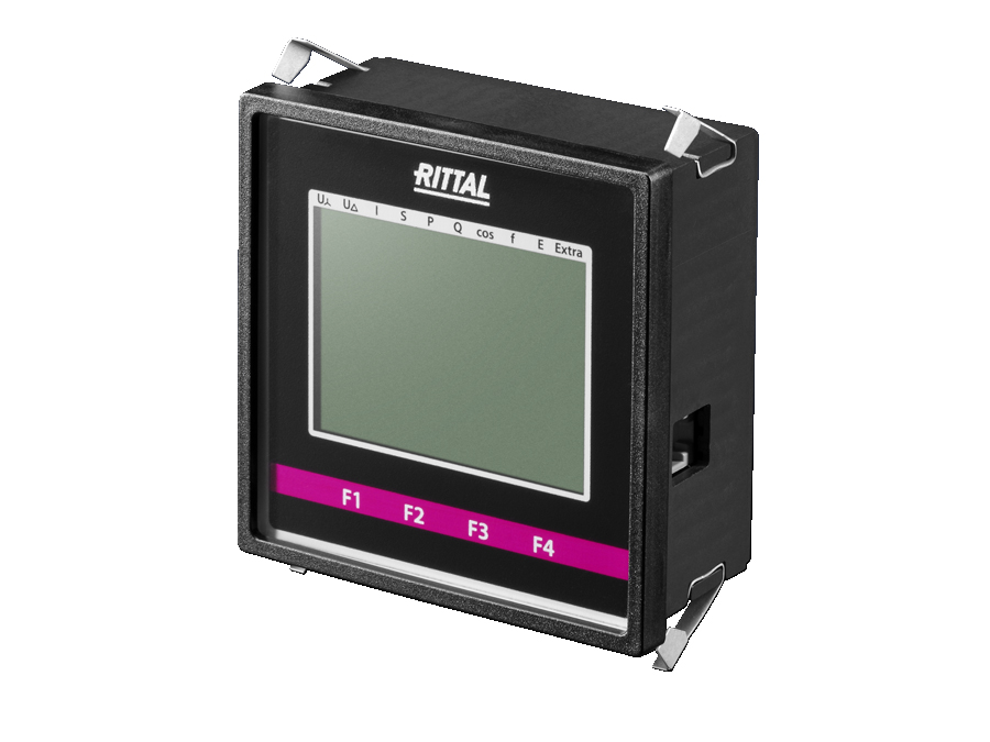 LCD display for monitoring interfaces