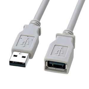 Non-halogen USB extension cable A⇔A female type