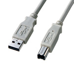 Non-halogen USB 2.0 cable A⇔B type