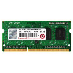 SO-DIMM 204PIN DDR3 non-CCE (basse tension 1.35V)