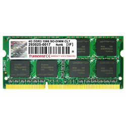 SO-DIMM 204PIN DDR3 non-CCE (unité standard 1.5V)