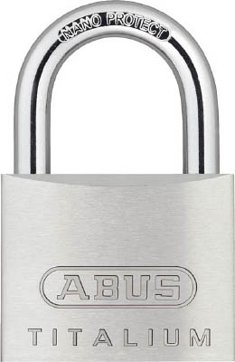 Lightweight Cylinder Padlock Titalium (Body Made of Aluminum) Arbitrary No.