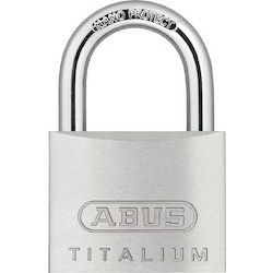 Lightweight Cylinder Padlock Titalium (Body Made of Aluminum) Same No.