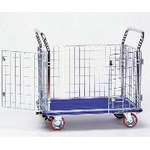 Double-Leafed Door Metal Mesh Hand Truck
