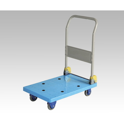 Quiet Environment Small-Sized Plastic Hand Trolley, Uniform Load 150/300 kg