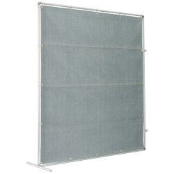 Partitioning Screen for Welding Sparks (Aluminum)