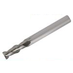 Solid End Mill for Processing Aluminum (Regular Flute Length), Model AL-SEES2