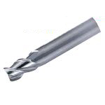 Solid End Mill for Processing Aluminum (Regular Flute Length), Model AL-SEES3