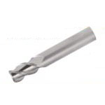 Solid End Mill for Aluminum Processing (Regular Blade Length) (With R Corner) AL - SEES3 - R Model