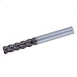 Super One-Cut End Mill, Model DZ-SOCM4 (Medium Flute Length, with Corner R)