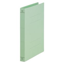 Flat File, Wide Spine, Green, Comes with 10