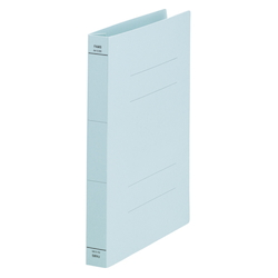 Flat File, Wide Spine, Blue, Comes with 10