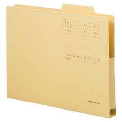 File Folder 10P A4-CFN Yellow