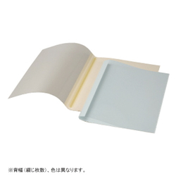 Thermal Binding Book Cover A4, 9 mm Ivory