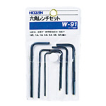 Hex Wrench Set W-91