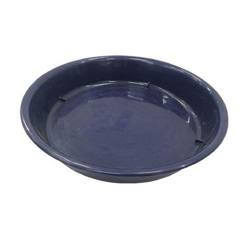 Tilted Medium-Sized Pot Saucer (Blue)