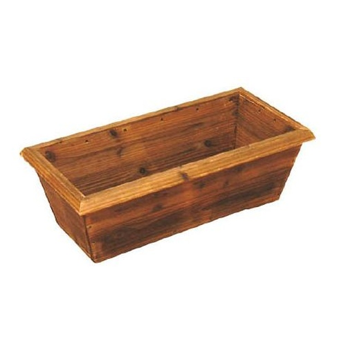 Burnt Cedar Mesh Planter (Box Type)