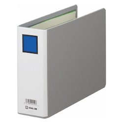 KING FILE G A5E Gray Standard: A5 Size Landscape Back Width: 66 mm Bind Thickness: 50 mm Appropriate Capacity: 500 Sheets