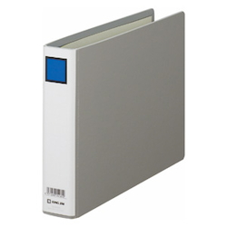 KING FILE G B5E Gray Standard: B5 Size Landscape Back Width: 46 mm Bind Thickness: 30 mm Appropriate Capacity: 300 Sheets