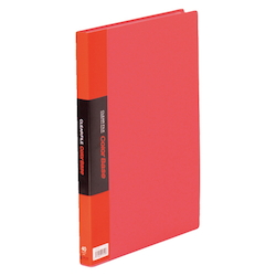 Clear File Color Base Red 40 Pocket External Dimensions (Length X Width): 307 X 242 mm Spine Width : 24 mm