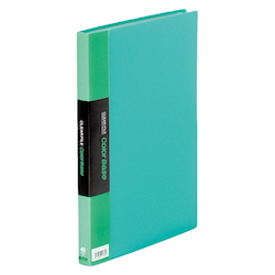 Clear File Color Base Green 40 Pocket External Dimensions (Length X Width): 307 X 242 mm Spine Width : 24 mm