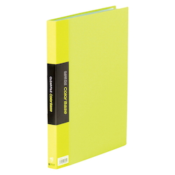 Clear File Color Base W Yellow Green
