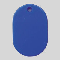 Small Number Ticket, Plain Includes 100 Sheet Blue