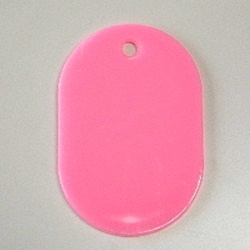 Small Number Ticket, Plain Includes 100 Sheet Pink