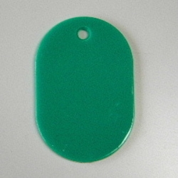 Large Number Ticket, Plain Includes 50 Sheet Green