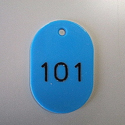 Large Number Ticket, Serial 101-150 Empty