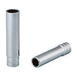 Deep Socket (Bihexagonal Type, Inch Sizes)