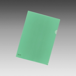Color Clear Holder A4 Crystal Green, Vertical 310 X Horizontal 220 mm