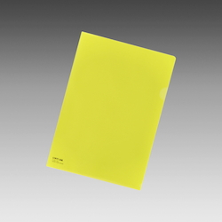 Color Clear Holder A4 Yellow, Vertical 310 X Horizontal 220 mm