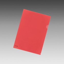 Color Clear Holder A4 Red, Vertical 310 X Horizontal 220 mm