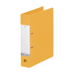 Request / D-Type Ring File, A4 Size Portrait, (Back Width 56 mm), Yellow