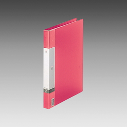 Request / Clear Book, A4 Size Portrait, (15 Pockets), 30 Holes, Red