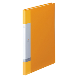 Request / Clear Book, A4 Size Portrait, (20 Pockets), Yellow
