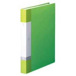 Request / Clear Book, A4 Size Portrait, (40 Pockets), Yellow Green