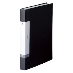Request / Clear Book, A4 Size Portrait, (40 Pockets), Black