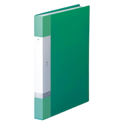 Request / Clear Book, A4 Size Portrait, (40 Pockets), Green