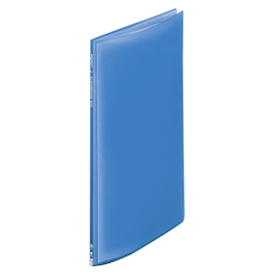 Request / Transparent Clear Book, A4 Size Portrait, (10 Pockets), Blue