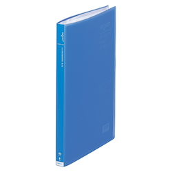 Request / Transparent Clear Book, A4 Size Portrait, (40 Pockets), Blue
