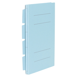 Color Cardboard File EX A4F Aqua Blue