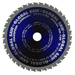"Global Saw ""Fine Metal"" (for Iron & Stainless Steel) FM"