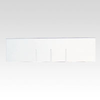 Letter Case P Type Deep Type Drawer Divider Horizontal Plate