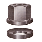 Spherical Flange Nut with Seat