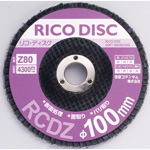 Disque Rico, φ100, grains abrasifs en zircone