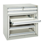 Cabinet Storage Double Hinged Type (Ball Slide Rail)