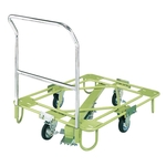 Movable Rotating Dolly, Light Duty, with Handle ・ Center Base